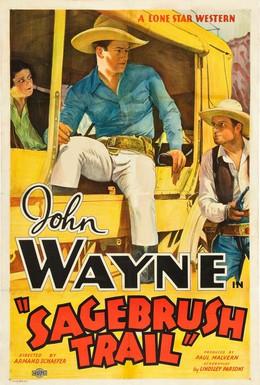 Постер фильма След в полыни (1933)