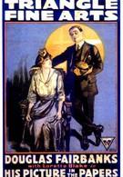 Его фотография в газетах (1916)