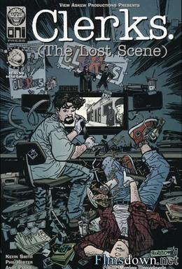 Постер фильма Клерки: Потерянная сцена (2004)