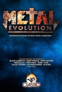 Постер фильма Эволюция метала (2011)