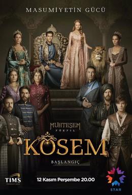 Постер фильма Великолепный век. Империя Кёсем (2015)