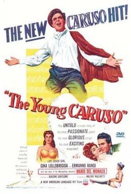 Постер фильма Молодой Карузо (1951)