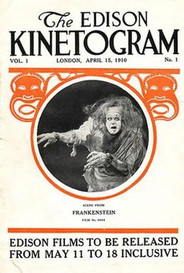 Постер фильма Франкенштейн (1910)