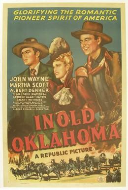 Постер фильма В старой Оклахоме (1943)