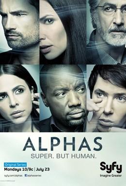 Постер фильма Люди Альфа (2011)