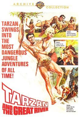 Постер фильма Тарзан и великая река (1967)