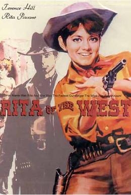 Постер фильма Маленькая Рита на Диком Западе (1968)