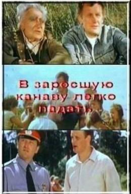 Постер фильма В заросшую канаву легко падать (1986)