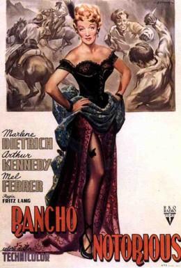 Постер фильма Пресловутое ранчо (1952)