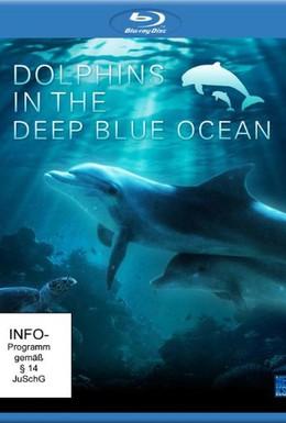 Постер фильма Дельфины в океанской синеве (2009)