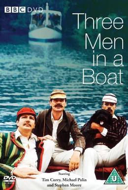 Постер фильма Трое в лодке, не считая собаки (1975)