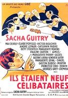Жили-были девять холостяков (1939)