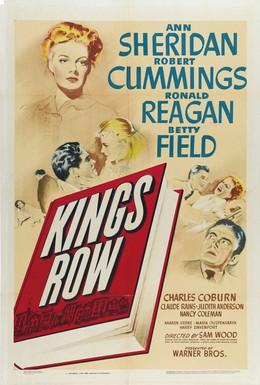 Постер фильма Кингс Роу (1942)