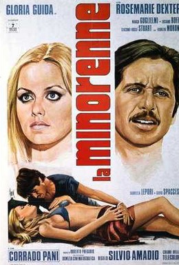Постер фильма Несовершеннолетняя (1974)