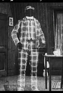 Постер фильма Невидимый вор (1909)