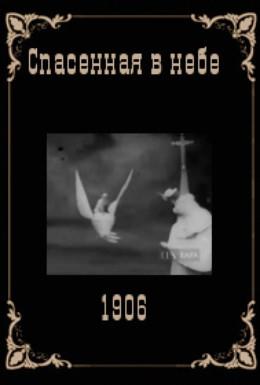 Постер фильма Спасённая в небе (1906)