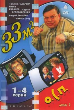 Постер фильма 33 квадратных метра (1997)