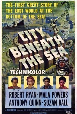 Постер фильма Город на морском дне (1953)