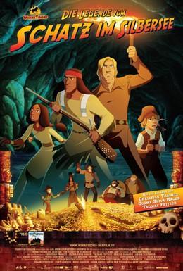 Постер фильма Приключения Виннету. Легенда сокровища Серебряного озера (2009)