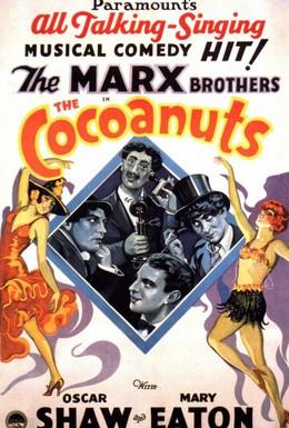 Постер фильма Кокосовые орешки (1929)