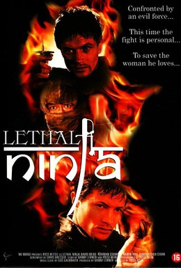 Постер фильма Смертоносный ниндзя (1992)