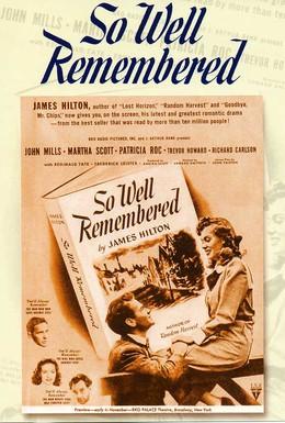 Постер фильма В памяти навсегда (1947)