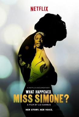 Постер фильма Что случилось, мисс Симон? (2015)