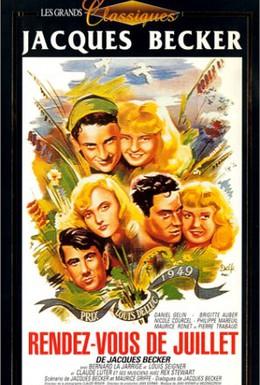 Постер фильма Свидание в июле (1949)