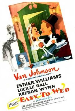 Постер фильма Легко жениться (1946)
