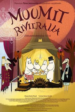 Постер фильма Муми-тролли на Ривьере (2014)