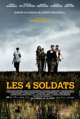 Постер фильма Четверо солдат (2013)