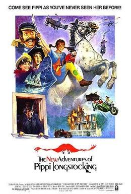 Постер фильма Новые приключения Пеппи Длинныйчулок (1988)
