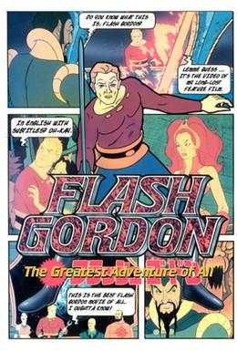 Постер фильма Флэш Гордон: Самое великое приключение из всех (1982)