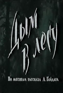 Постер фильма Дым в лесу (1955)
