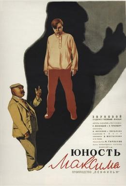 Постер фильма Юность Максима (1934)