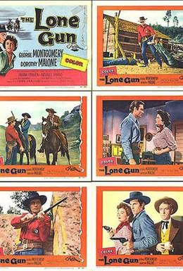 Постер фильма Одинокий стрелок (1954)