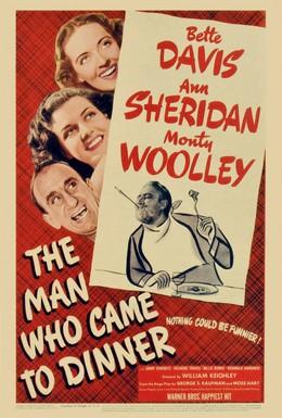 Постер фильма Человек, который пришел к обеду (1942)