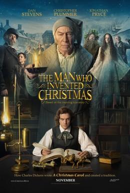 Постер фильма Человек, который изобрёл Рождество (2017)
