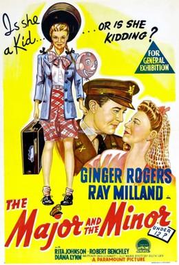 Постер фильма Майор и малютка (1942)