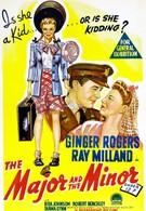 Майор и малютка (1942)