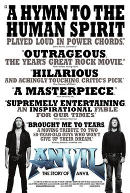 Постер фильма Anvil: История рок-группы (2008)