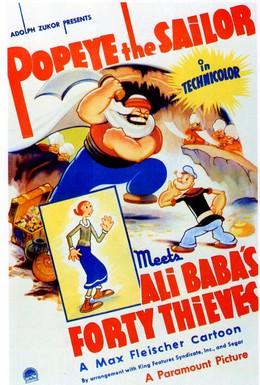 Постер фильма Папай-моряк встречает Али-бабу и 40 разбойников (1937)