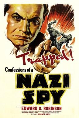 Постер фильма Признание нацистского шпиона (1939)