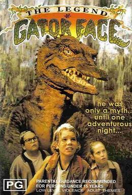 Постер фильма Легенда о Человеке-Аллигаторе (1996)