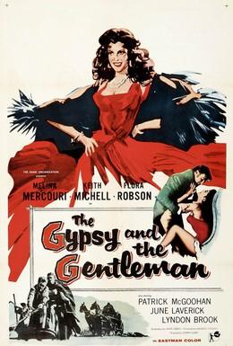 Постер фильма Цыганка и джентльмен (1958)