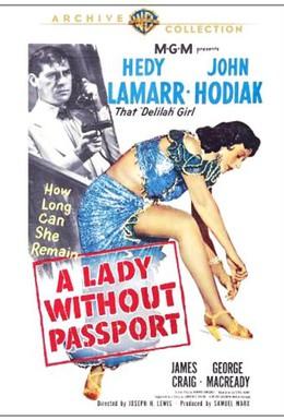 Постер фильма Девушка без паспорта (1950)