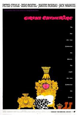 Постер фильма Екатерина Великая (1968)