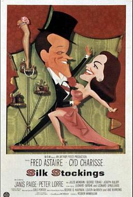 Постер фильма Шелковые чулки (1957)