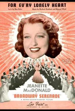 Постер фильма Бродвейская серенада (1939)
