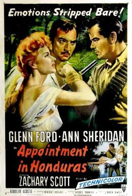 Постер фильма Назначение в Гондурас (1953)